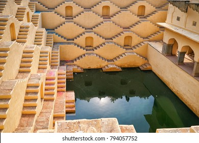 Panna Meena ka Kund  step-well near Amber Fort and it was amazing, Jaipur, Rajasthan - India