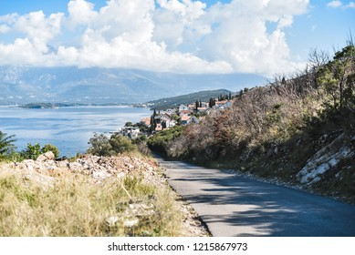 Panoram of Montenegro mountains