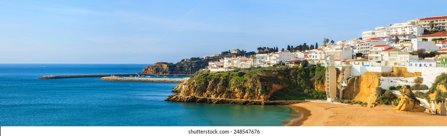 A panorama of Albufeira, Portugal