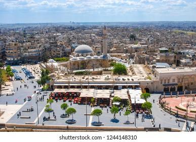 Panorama of Aleppo Syria