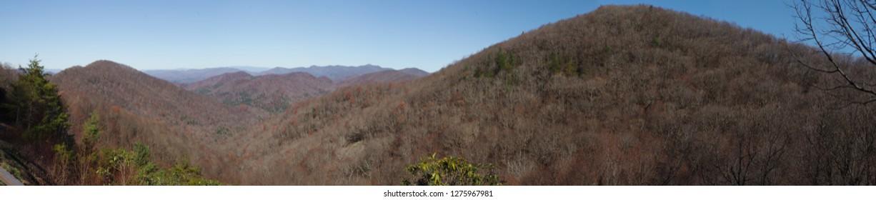 Panorama of the Appalachian Mountains