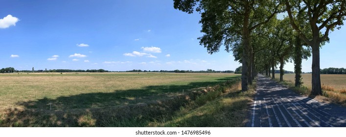 Panorama from around Eesveen in Overijssel, The Netherlands