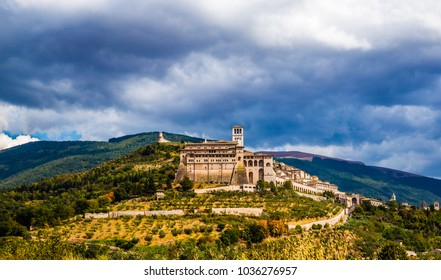 Panorama of Assisi - Province of Perugia, Umbria Region, Italy, Europe