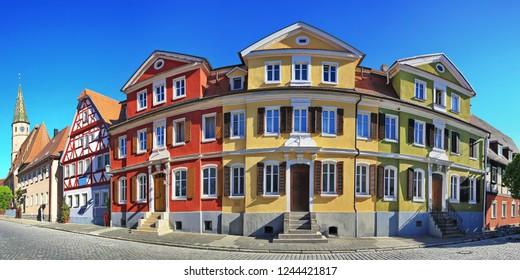 Panorama Bad Windsheim is a city in Bavaria Germany
