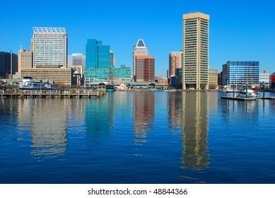 Panorama of Baltimore