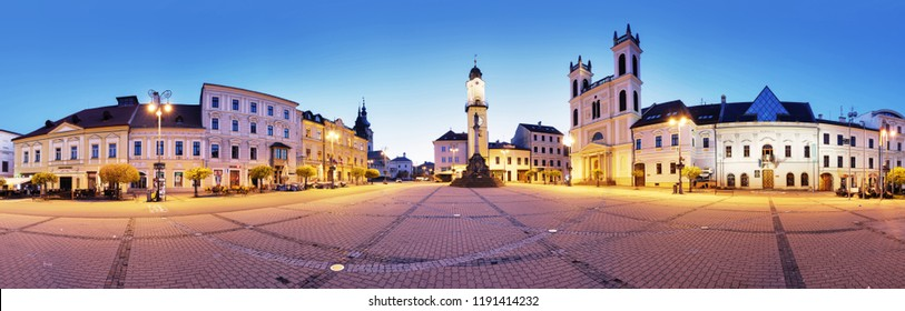 Panorama of Banska Bystrica, Slovakia