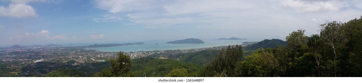Panorama bay Phuket Thailand