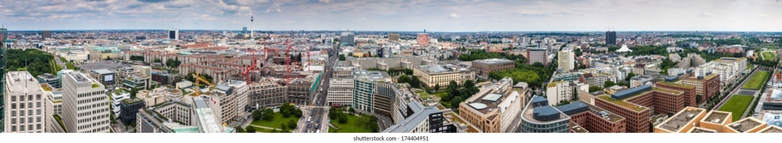 Panorama of Berlin, Germany