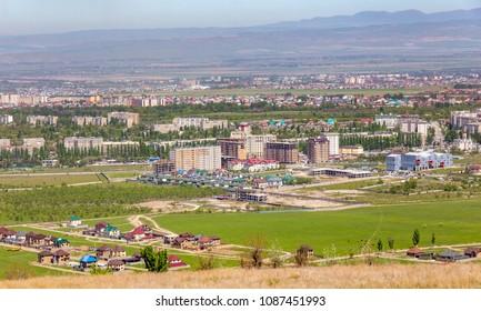 Panorama of Bishkek, Kyrgyzstan