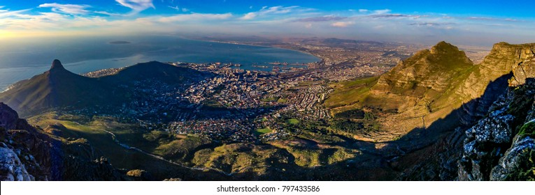 Panorama of Cape Town, South Africa