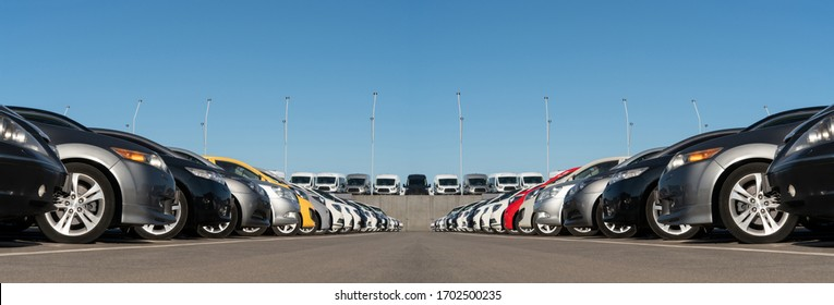 Panorama des Automobilmarktes. Gebrauchte Kfz-Verkäufe