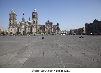 Panorama of the Cathedral of Mexico City