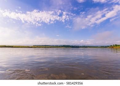 Panorama of Chitwan National Park, Nepal