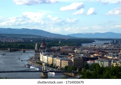 Panorama of the city of Budapest - Shutterstock ID 1714503670