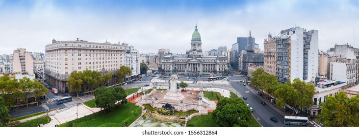 Panorama of the city of Buenos Aires, Argentina