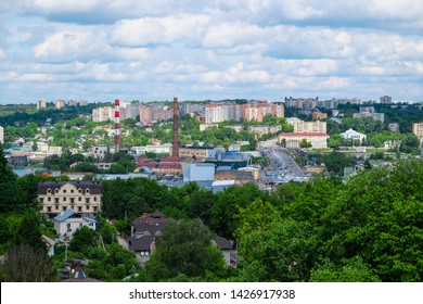 Panorama of the city of Smolensk, Russia