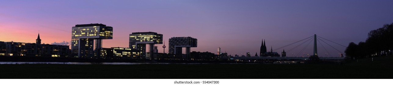 Panorama of Cologne