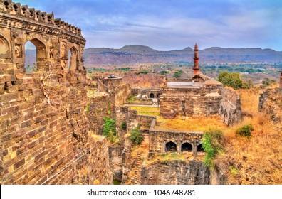 Panorama of Devagiri Fort in Daulatabad - Maharashtra, India