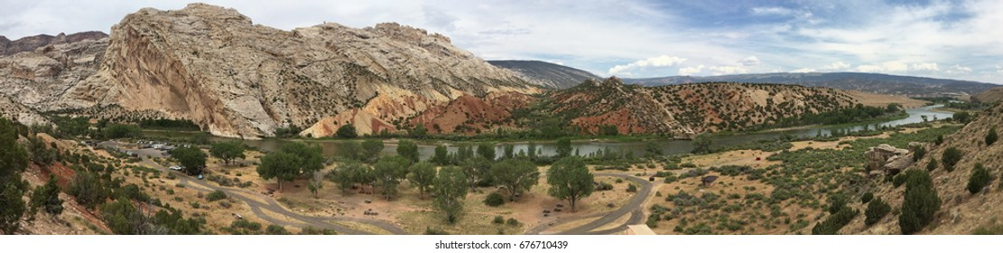 Panorama in Dinosaur National Monument, Utah
