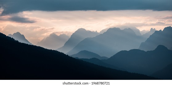 Panorama of Dolomites - Italy