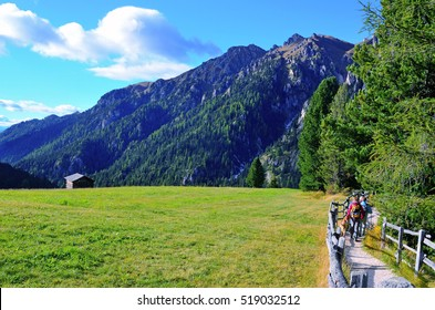 panorama of the dolomites south tyrol italy