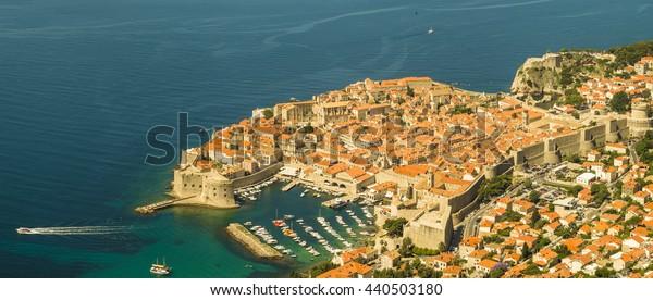Panorama of Dubrovnik, Croatia
