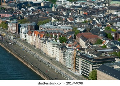 Panorama of Dusseldorf, Germany
