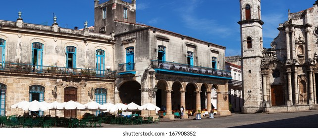 Panorama of Havana Cathedral Square