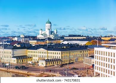 Panorama of Helsinki, Finland
