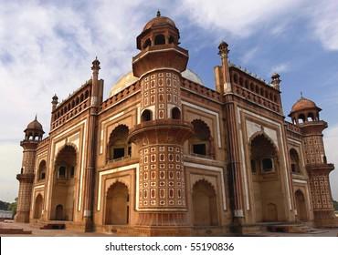 Panorama of Humayuns Tomb Delhi - India