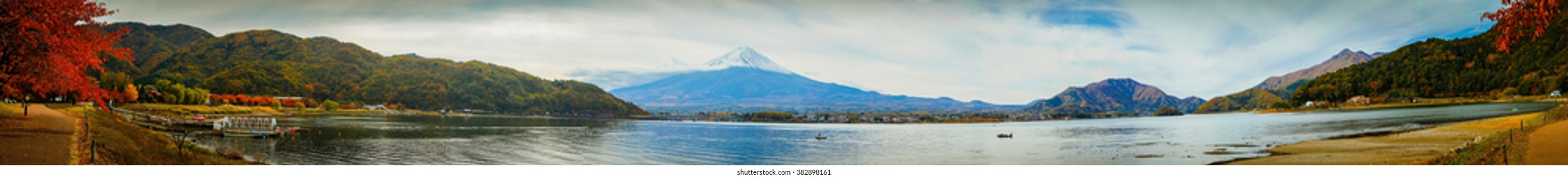 The Panorama of Kawaguchiko