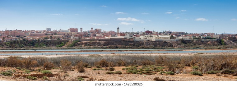 Panorama of Laayoune. Laayoune, Western Sahara, Morocco.