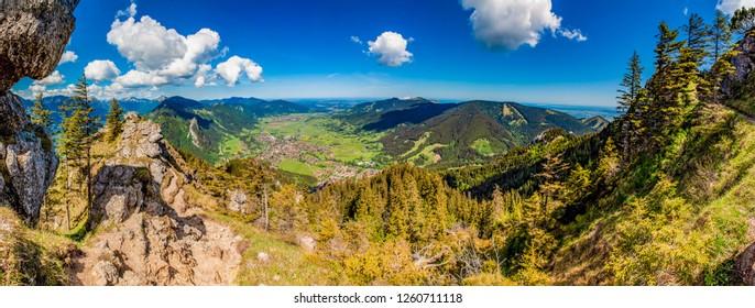 Panorama from Laber - Oberammergau - Bavaria - Germany