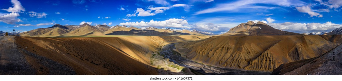 Panorama Landscape of Mountains