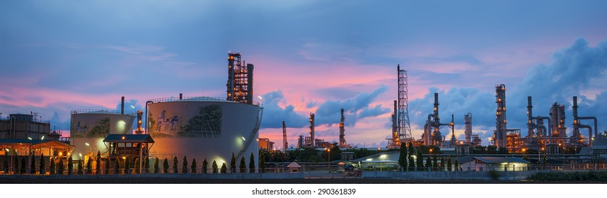 Panorama landscape of petrochemical industrial plant/Estate industry of fossil petroleum/Industrial zone,The equipment of oil refining,Close-up of industrial pipelines of an oil-refinery plant.
