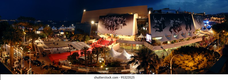 Panorama of Le Palais des Festivals during the 60th Annual International Film Festival de Cannes. May 25, 2007  Cannes, France.  2007 Paul Smith / Featureflash