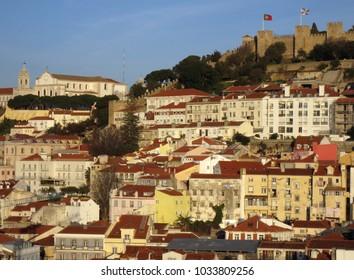 Panorama of Lisbon, Portugal.
