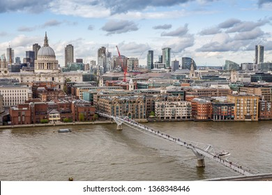 Panorama of London from above