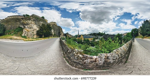 360° panorama in Luxembourg City