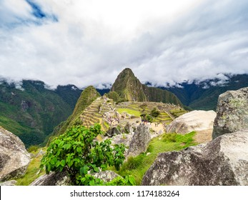 Panorama of the Machu Picchu