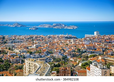 Panorama of Marseille, Provence, France