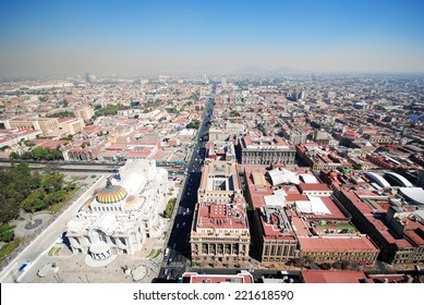 Panorama of Mexico City