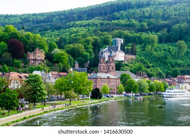 Panorama of Miltenberg in Bavaria Germany