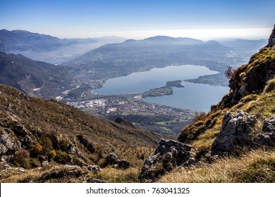 Panorama of mount Cornizzolo