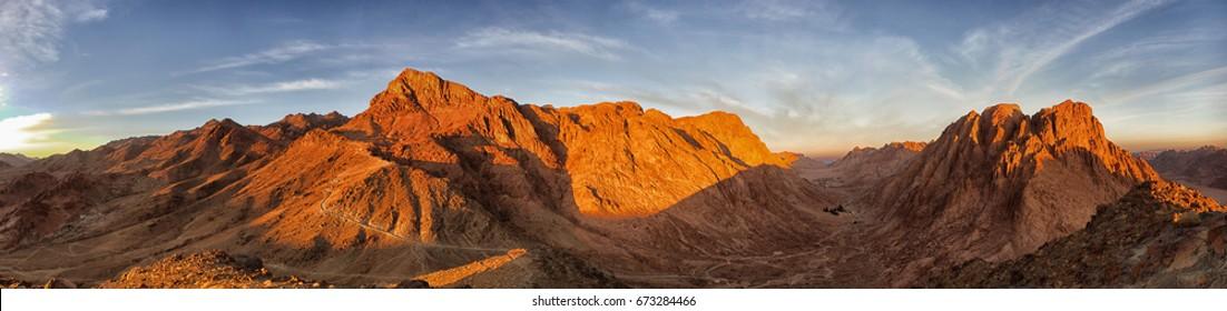 Panorama Mount Moses Sinai
