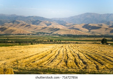 panorama of mountains in Uzbekistan