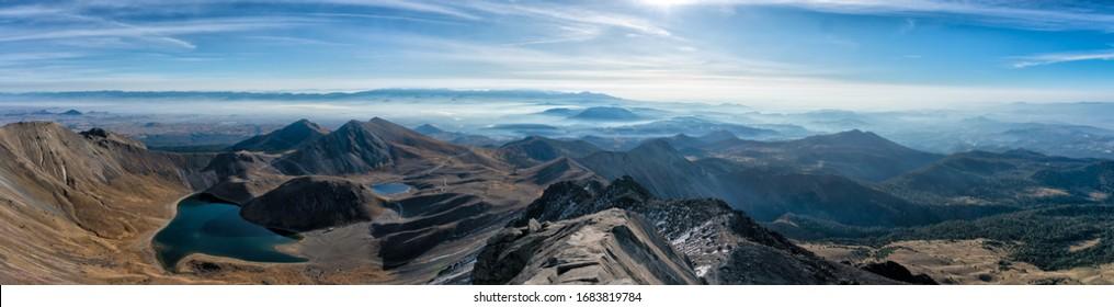 Panorama Nevado de toluca view