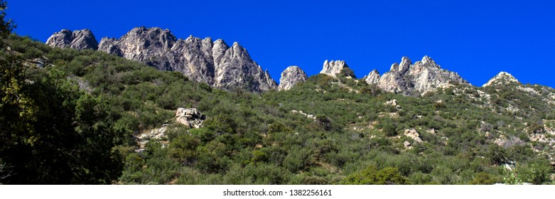 Panorama of Organ Mountains-Desert Peaks National Monument in New Mexico