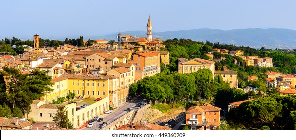 Panorama  of Perugia, Umbria, Italy