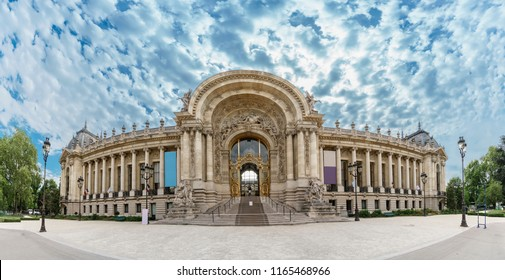 Panorama of Petit Palais in Paris, France